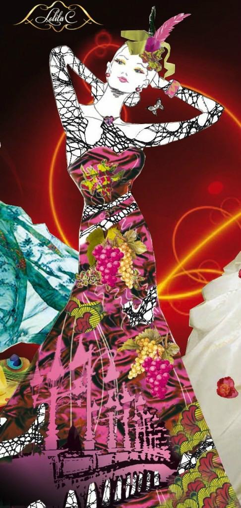 atelier de couture lolita C, croquis