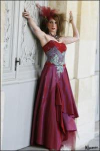 création robe sur mesure, lolita C