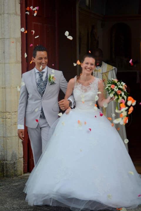 robe de mariée tulle et dentelle, lolita C, bordeaux, 03