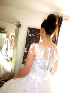 robe de mariée sur mesure, Pauline, Lolita C