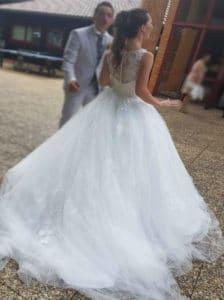 robe de mariée unique, robe de mariée bordeaux, lolita c