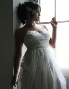 robe de mariée unique, robe sur mesure bordeaux, lolita C
